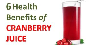 6 Health Benefits of Cranberry Juice
