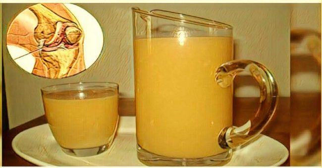 To Strengthen The Knees, Rebuild Cartilages And Ligaments You Will Need This Drink