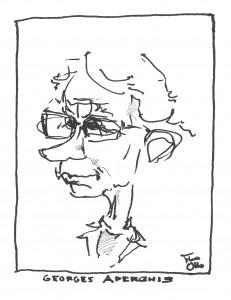 Georges Aperghis - Illustratie: Floris Solleveld