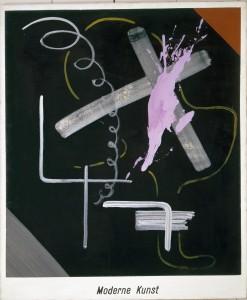 Sigmar Polke: Moderne Kunst, 1968 Acryl und Lack auf Leinwand 150 x 125 cm Sammlung Froehlich, Stuttgart Foto: © Archiv der Sammlung Froehlich © The Estate of Sigmar Polke / VG Bild-Kunst Bonn, 2015