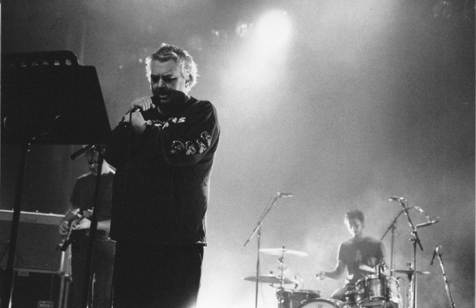 Daniel Johnston tijdens een concert in Brussel in 2019