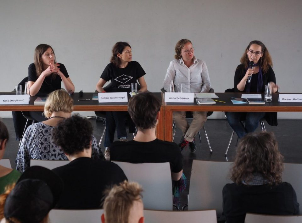 PANEL I – Female Future Sounds Day 1 @ Heroines of Sound Festival 2019 03 © Udo Siegfriedt 2019