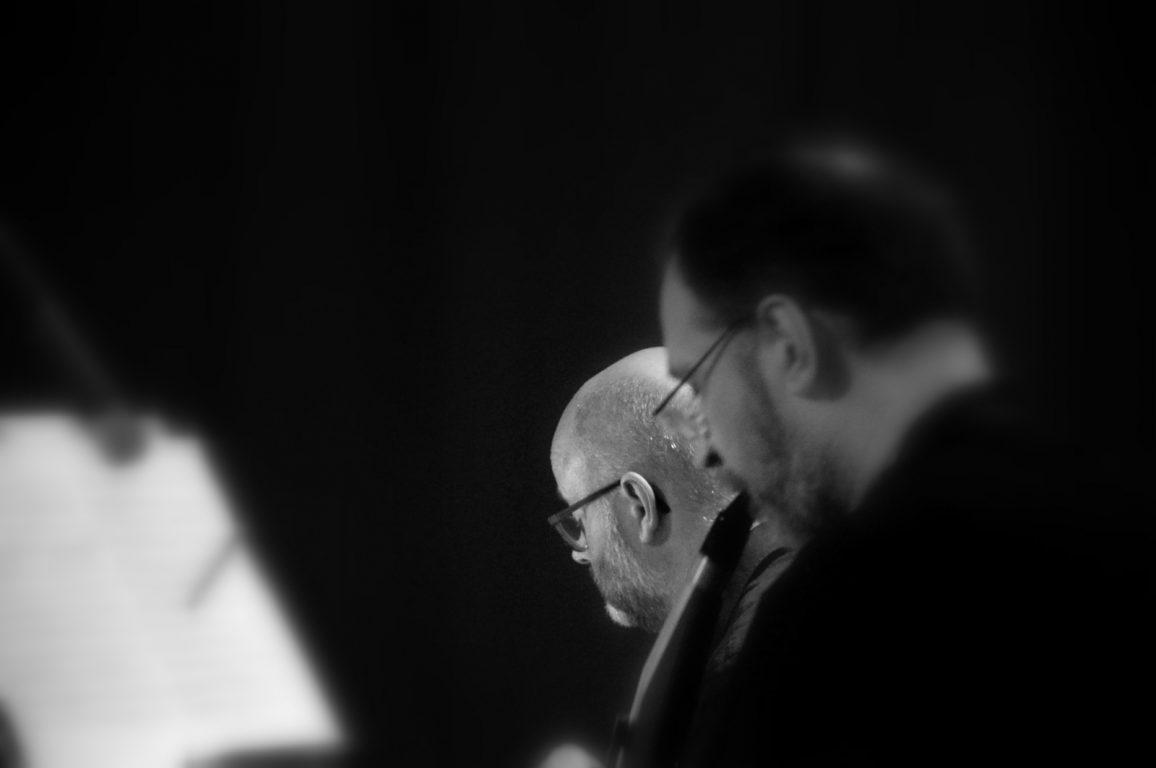 Connecting Silence tijdens een performance in PostX Merelbeke