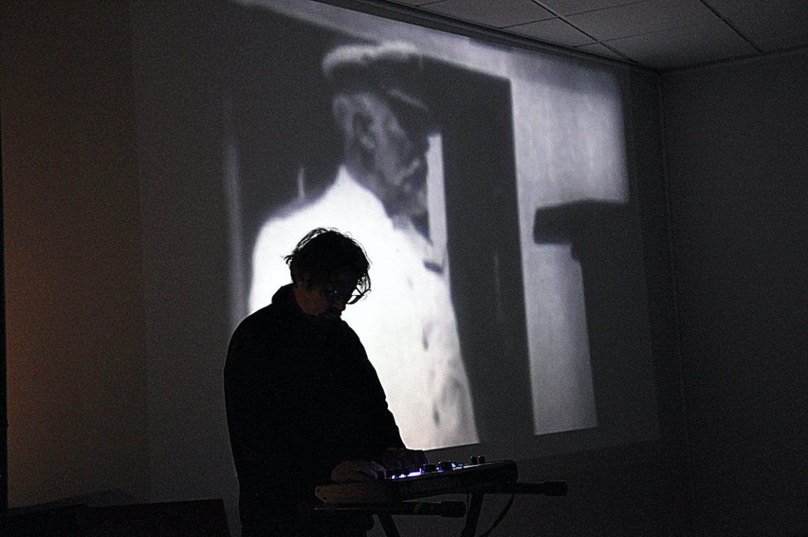 Jean-Marc Lederman tijdens het Antenna Festival in Evergem