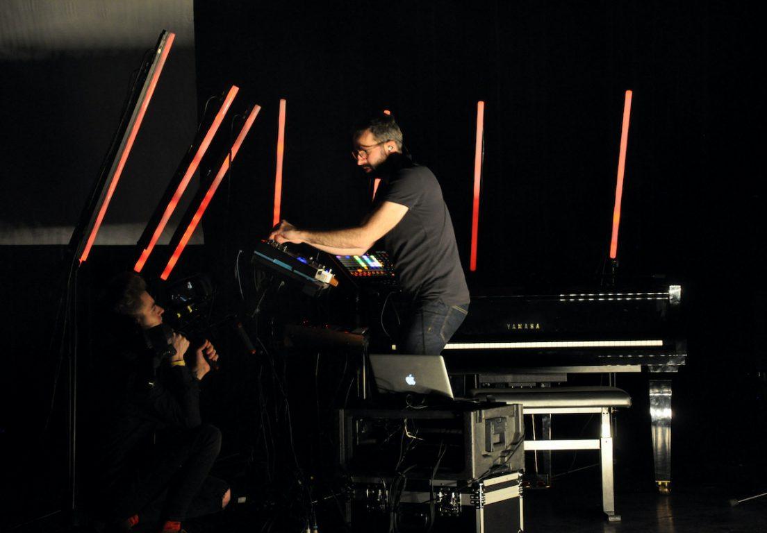 Poltrock tijdens het Antenna Festival 2020 in Evergem