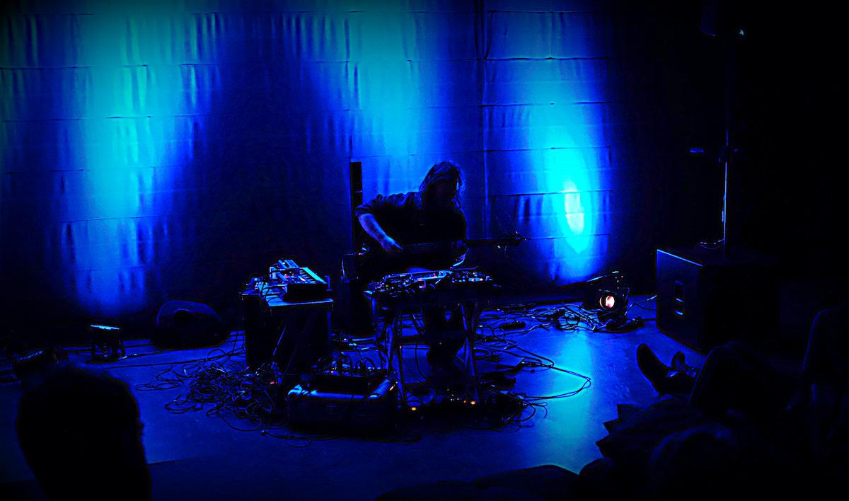 Bert Cools tijdens het Night Air Festival op 7 maart 2020 in Kortrijk