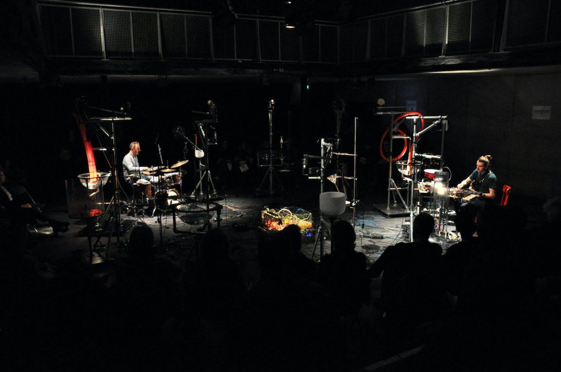Sonitum Voda tijdens het Night Air Festival op 7 maart 2020 in Kortrijk