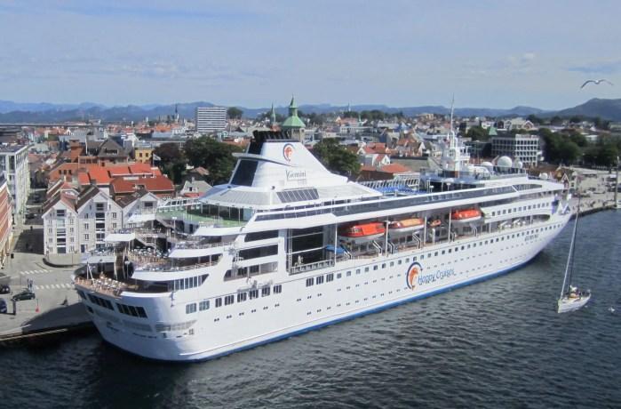 MS Gemini i Stavanger, Norge