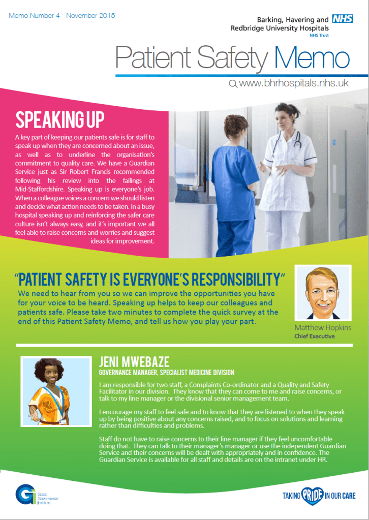 Patient Safety Memo 4