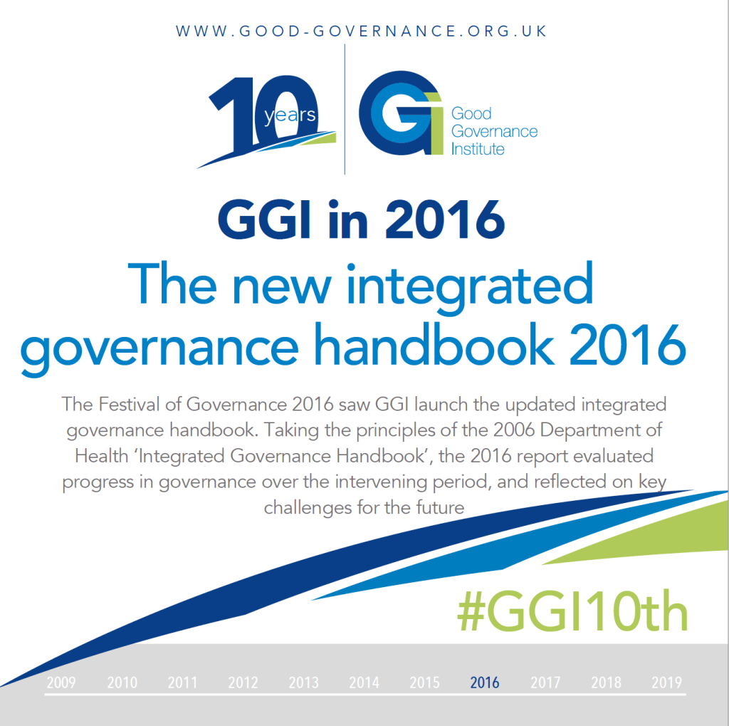GGI10th - GGI in 2016 - The new integrated governance handbook 2016