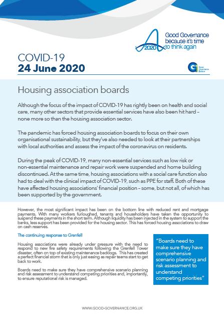 Housing association boards