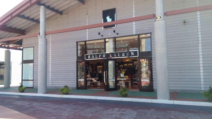 アウトレットモールあしびなーのラルフローレン店