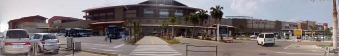 Panoramic picture of AEON Mall Okinawa Rycom