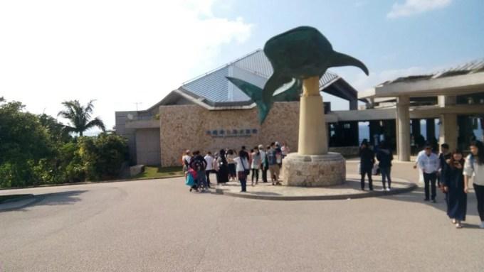 A big whale shark monument