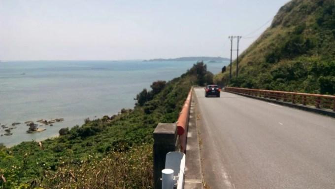 Driving scenery of Henza-jima Island 2