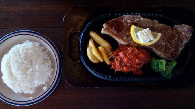 Jumbo sirloin steak