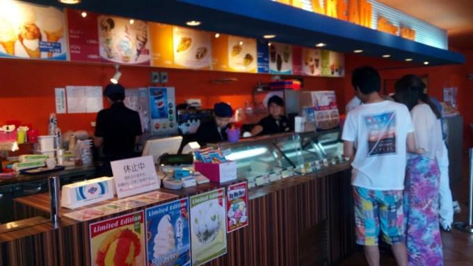 Blue Seal ice cream Nago shop inside photo 1