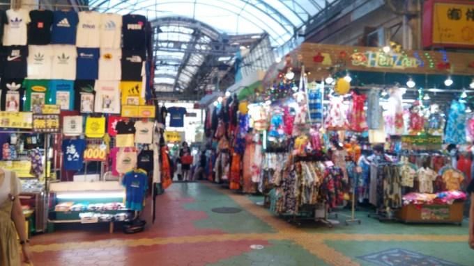 Passage on the left side of Makishi public market