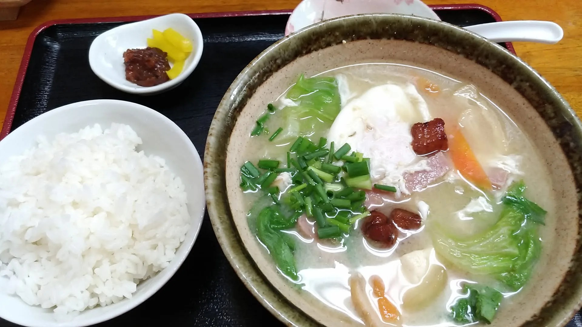 the miso soup of Mi-yaguwa
