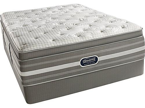 simmons beautyrest world class cresthill plush pillowtop