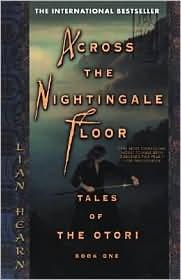 Across The Nightingale Floor Lian Hearn Book Cover
