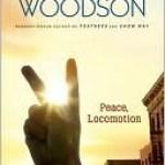 Peace Locomotion, Jacqueline Woodson, Book Cover, Peace Sign