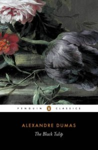 The Black Tulip by Alexander Dumas Book Cover