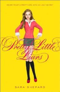 Pretty Little Liars, Book Cover, Sara Shepard