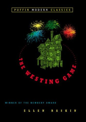 The Westing Game, Ellen Raskin, Book Cover