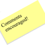 Post It Comments