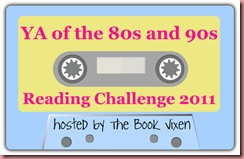 YA Of The 80s And 90s Book Challenge