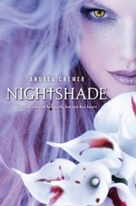 Nightshade Andrea Creamer Book Cover
