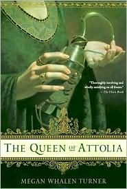 The Queen of Attolia by Megan Whalen Turner Book Cover
