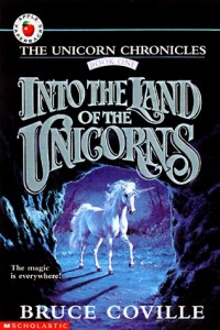 Into The Land Of The Unicorns, Bruce Coville, Book Cover