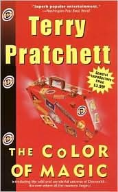 The Color of Magic, Terry Pratchett, Book Cover, Discworld
