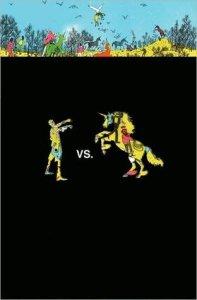 Zombies Vs. Unicorns anthology Book Cover