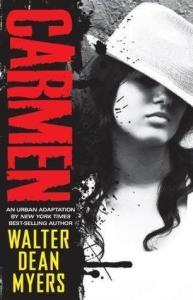Carmen, Walter Dean Myers, Book Cover