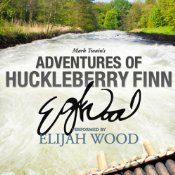 Huck Finn, Audiobook cover, Mark Twain