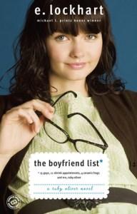The Boyfriend List, E Lockhart, Book Cover
