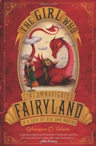 The Girl Who Circumnavigated Fairyland In A Ship Of Her Own Making Book Cover by Catherynne Valente