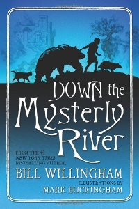 Down The Mysterly River by Bill Willingham Book Cover