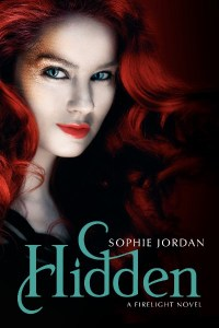 Book Cover of HIdden by Sophie Jordan Book Three in Firelight