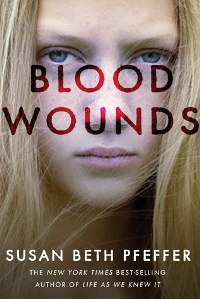 Blood Wounds by Susan Beth Pfeffer Book Cover