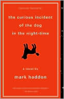 The Curious Incident Of The Dog In The Night Time, Mark Haddon, Book Cover, Orange