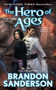 The Hero Of Ages, Brandon Sanderson, Book Cover