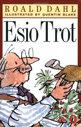 Esio Trot, Book Cover, Roald Dahl,