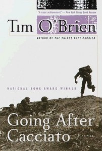 Going After Cacciato, Tim O'Brien, Book Cover,