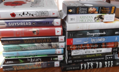 In My Mailbox, library books, arcs