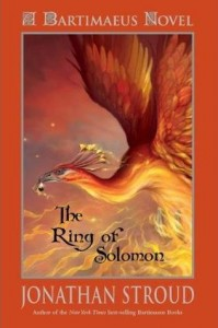 The Ring Of Solomon, Jonathan Stroud, Book Cover, Phoenix