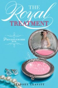 The Royal Treatment, Lindsey Leavitt, Book Cover